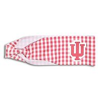 Legacy Athletic Indiana Hoosiers Gingham Headband