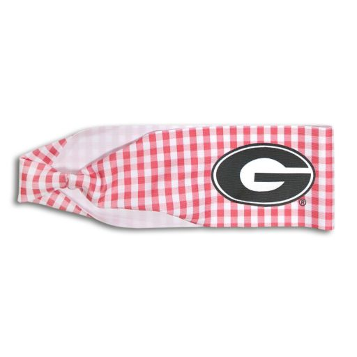 Legacy Athletic Georgia Bulldogs Gingham Headband