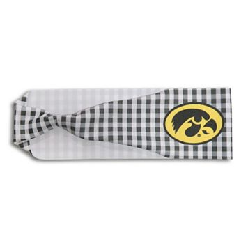 Legacy Athletic Iowa Hawkeyes Gingham Headband