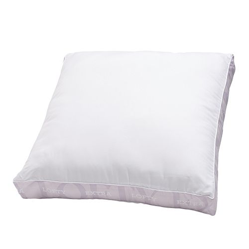 Won't Go Flat Extra Firm Euro Square Pillow