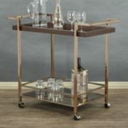 OSP Designs Isabella Wheeled Bar Cart