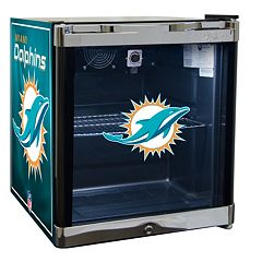 Miami Dolphins 1.8 ctft. Refrigerated Beverage Center