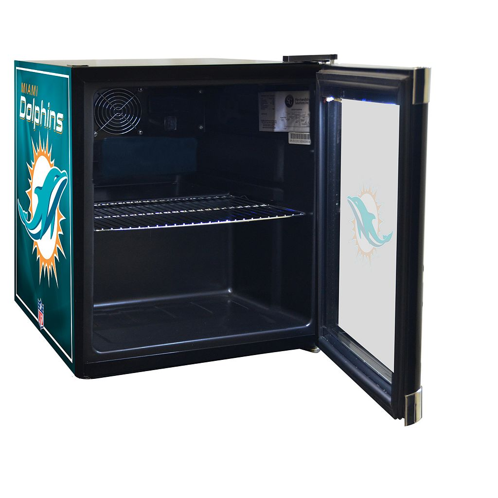 Miami Dolphins 1.8 ct. ft. Refrigerated Beverage Center