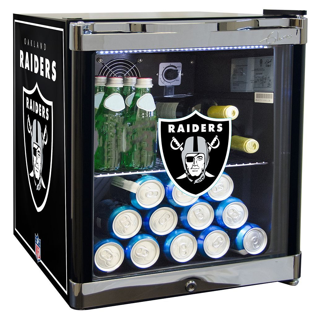 Oakland Raiders 1.8 ct. ft. Refrigerated Beverage Center