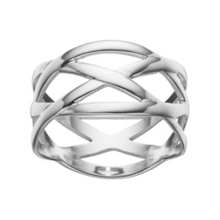 PRIMROSE Sterling Silver Woven Ring