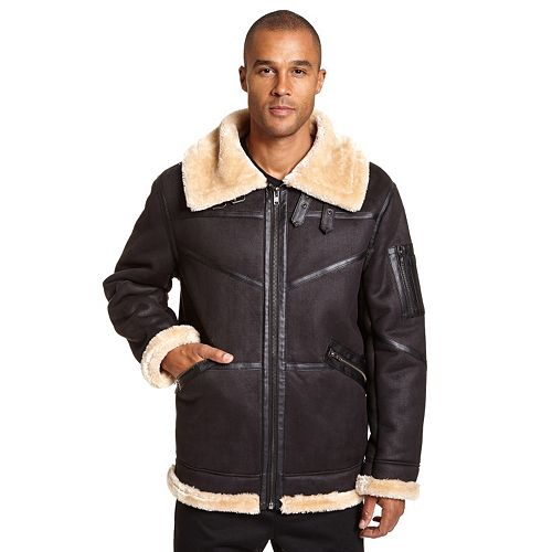 f54f1f8f3 Men's Excelled Faux-Shearling Bomber Jacket