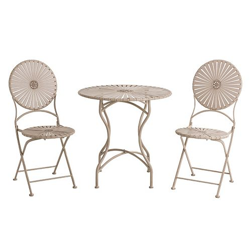 Sunjoy Soda Bistro Table 3-piece Set