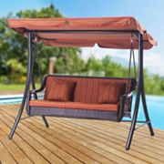 Sunjoy Curry Patio Swing