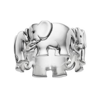 PRIMROSE Sterling Silver Elephant Ring