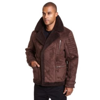 Big & Tall Excelled Faux-Shearling Jacket