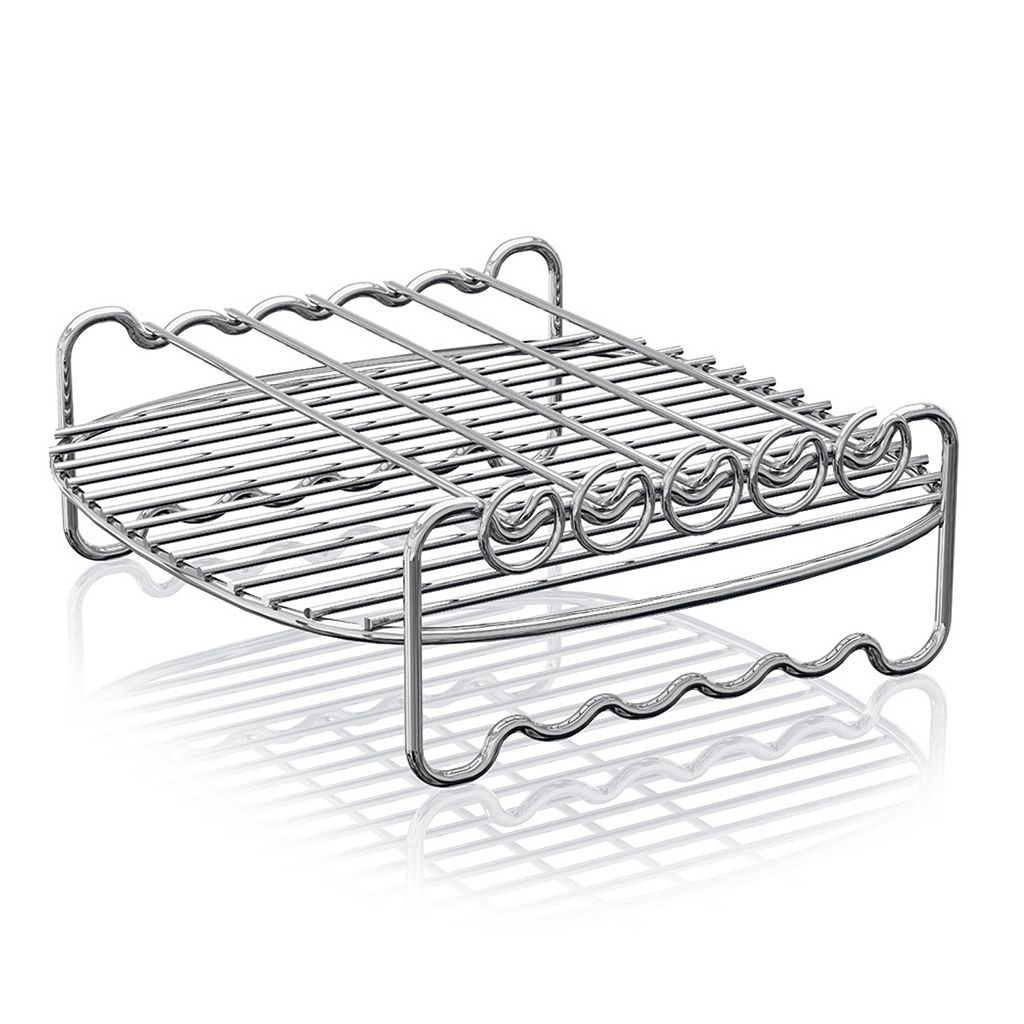 As Seen on TV Philips Air Fryer Double Layer Rack with Skewers