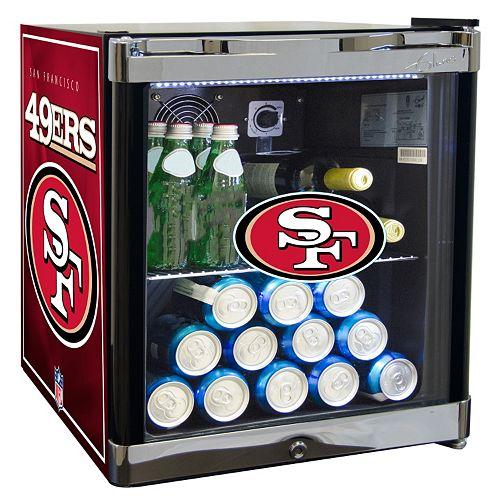 San Francisco 49ers 1.8 ct. ft. Refrigerated Beverage Center