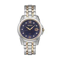 Seiko Men's Le Grand Sport Diamond Two-Tone Stainless Steel Solar Watch - SNE428