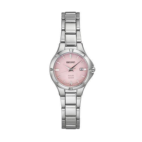 Seiko Women's Core Stainless Steel Solar Watch - SUT315