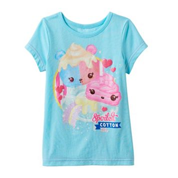 Girls 4-6x Num Noms Glitter Scented Tee