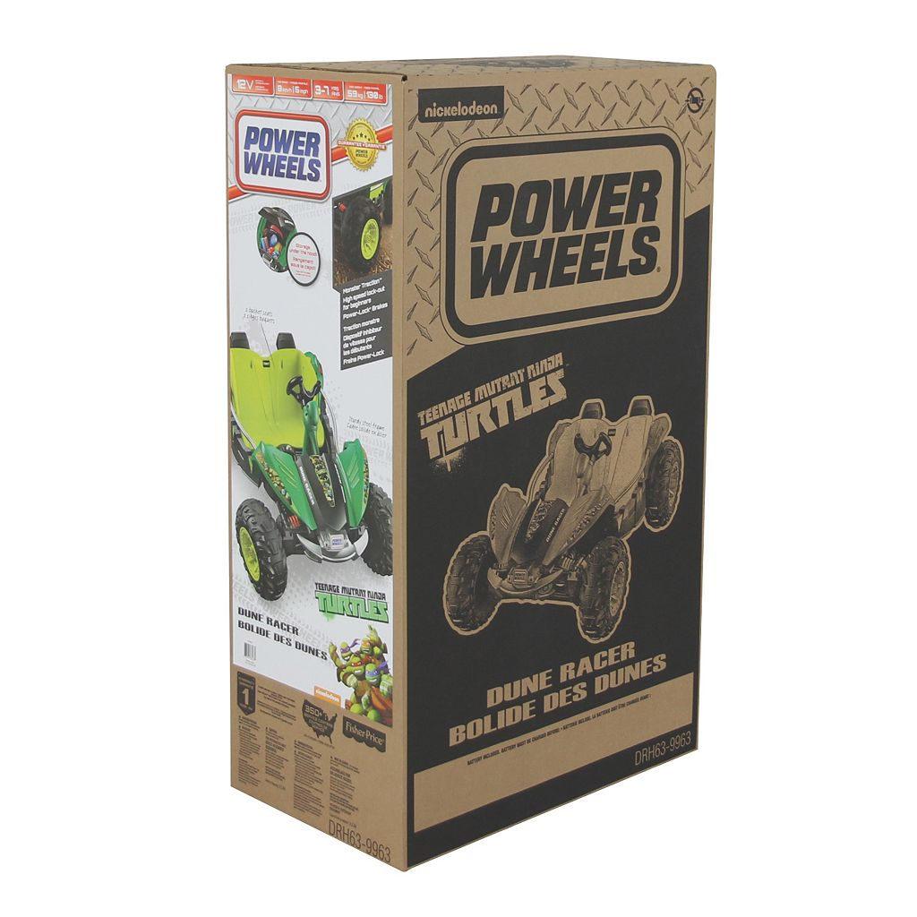 Power Wheels Teenage Mutant Ninja Turtles Dune Racer by Fisher-Price