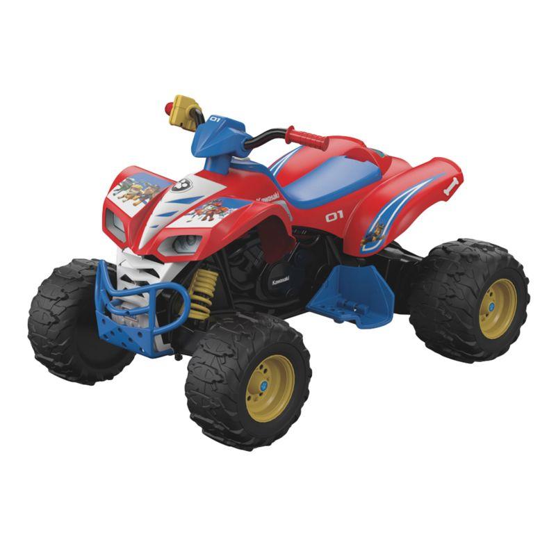 Power wheels high speed hook up