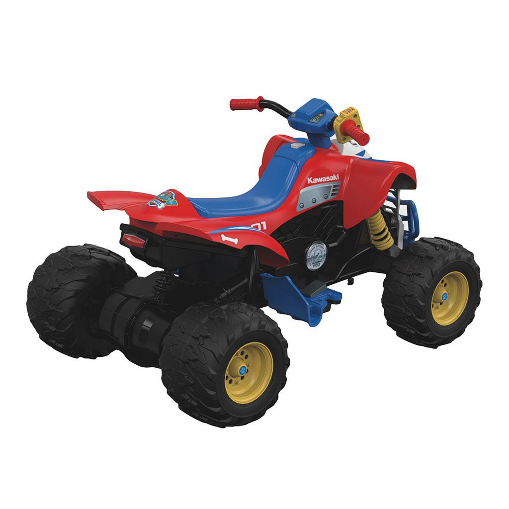 Power Wheels Paw Patrol Kawasaki KFX Ride-On by Fisher-Price