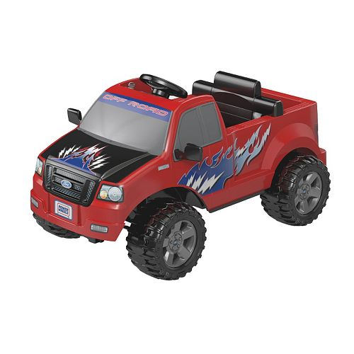 power wheels ford lil 39 f 150 truck by fisher price. Black Bedroom Furniture Sets. Home Design Ideas