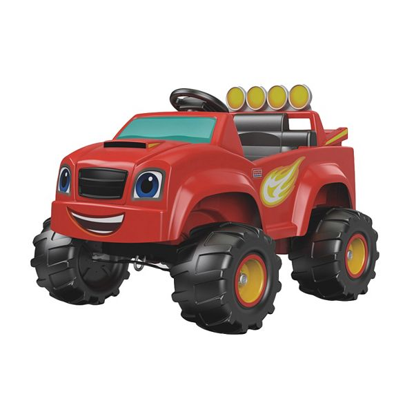 Power Wheels Blaze And The Monster Machines Monster Truck Ride On By Fisher Price