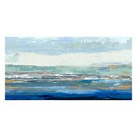 Artissimo Big Wave Canvas Wall Art