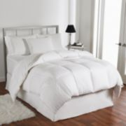 Living Comfortably 500 Thread Count European Duck Down Comforter