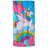 Jumping Beans Unicorn Beach Towel