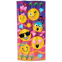 Jumping Beans Emoji Beach Towel