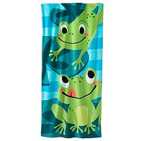 Jumping Beans Frog Beach Towel