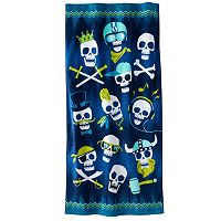 Jumping Beans Skulls Beach Towel