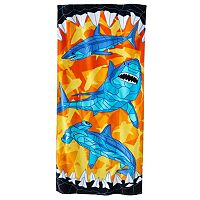 Jumping Beans Shark Beach Towel