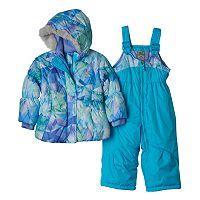 ZeroXposur Baby Girl Heavyweight Jacket & Bib Snow Pants Set