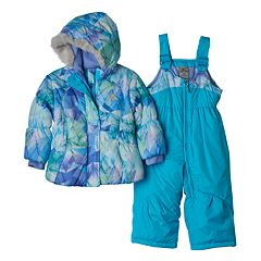 Baby Girl ZeroXposur Heavyweight Jacket & Bib Snow Pants Set