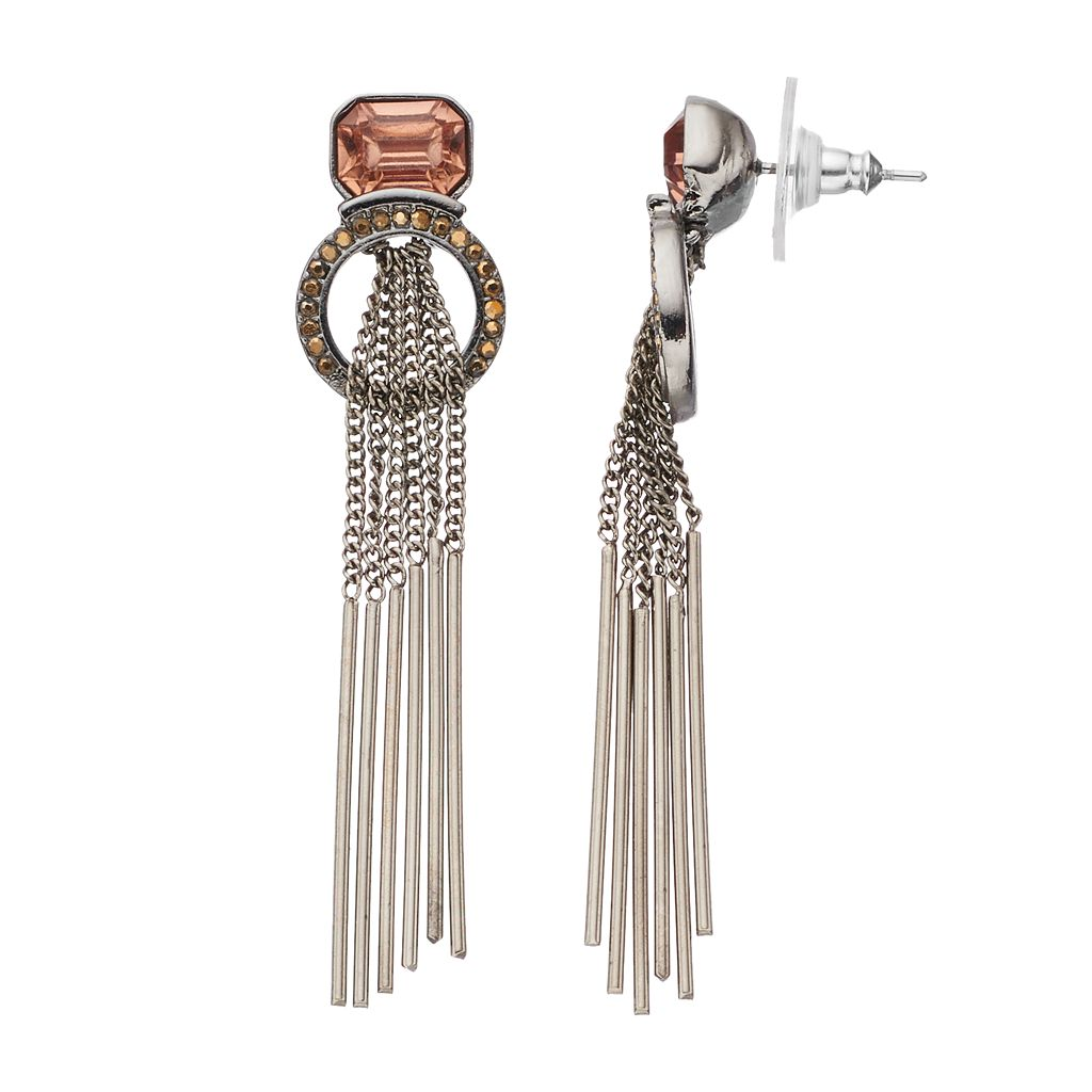 Simply Vera Vera Wang Stick Fringe Earrings