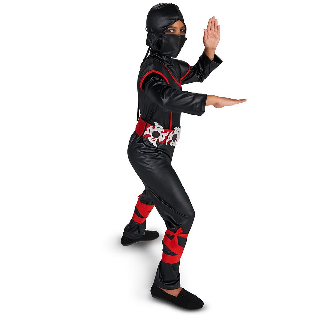 Kids Hidden Ninja Jumpsuit Costume