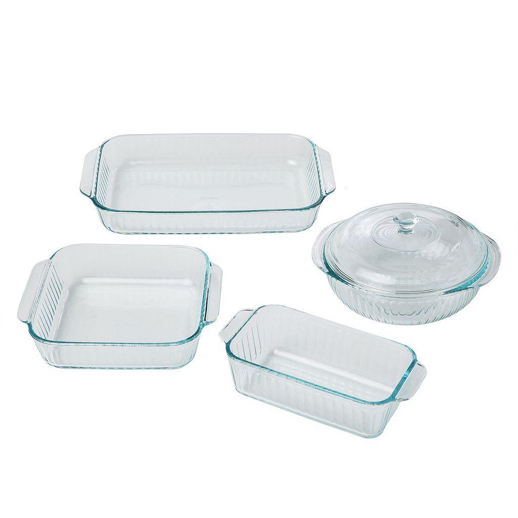 Pyrex 5-pc. Glass Bakeware Set