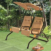 Sunjoy Sherborn Dual Patio Swing
