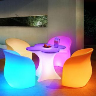 Sunjoy LED Patio Chair