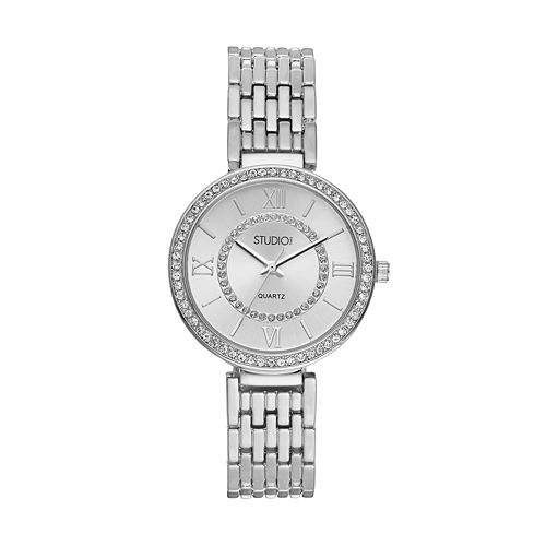 Studio Time Women's Crystal Watch pantip