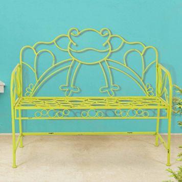 Sunjoy Frog Patio Bench