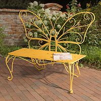 Sunjoy Butterfly Patio Bench