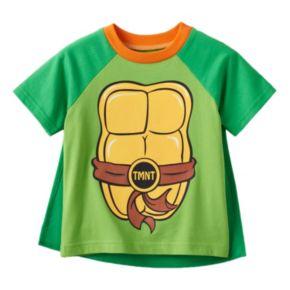 Toddler Boy Teenage Mutant Ninja Turtles Cape Tee