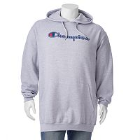 Big & Tall Champion Logo Pullover Hoodie