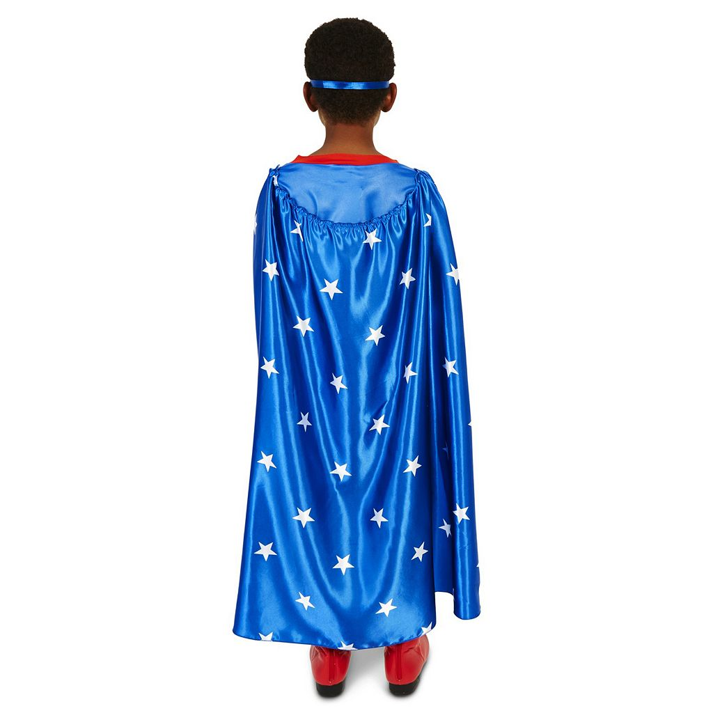 Kids Pop Art Comic Super Hero POW Costume