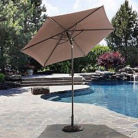 Sunjoy Delilah Adjustable Patio Umbrella