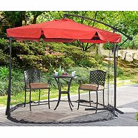 Sunjoy Offset Netted Patio Umbrella