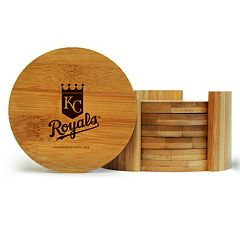 Kansas City Royals 6 pc Bamboo Coaster Set