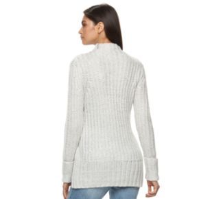 Women's Jennifer Lopez Metallic Mockneck Sweater