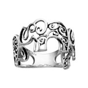 PRIMROSE Sterling Silver Elephant Ring