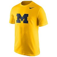 Men's Nike Michigan Wolverines Logo Tee